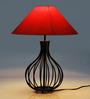 Tu Casa Pyramid Orange Poly Cotton Lamp Shade