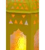 Tu Casa Yellow Tomb LED Candle Holder