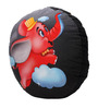 Tubby Round Playtoy in Black Colour by Imagica