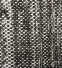 Tulsiram Rugs Black Wool 90 x 63 Inch Geometric Carpet
