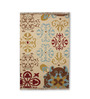 Tulsiram Rugs Multicolour Wool 90 x 63 Inch Abstract Carpet