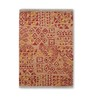 Tulsiram Rugs Multicolour Wool 90 x 63 Inch Ethnic Carpet