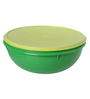 Tupperware Allegra Green Polycarbonate Bowl 6.5 L with Lid