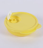 Tupperware Crsytal Wave Yellow Plastic 400 Airtight Container - set of 3