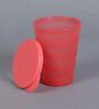 Tupperware Ripple Multicolour Plastic 330 ML Tumbler - Set Of 4