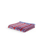 Turkish Bath Red & Violet Cotton 30 x 58 inch Bath Towel
