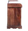 Tuskar Solidwood Shoe Rack in Walnut Colour by HomeTown