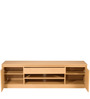 Akio Entertainment Unit in Asoka Oak Finish by Mintwud