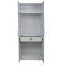 Two Door Wardrobe in White Colour by Parin