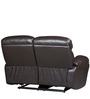 Two Seater Half Leather Recliner Sofa in Brown Colour by Star India
