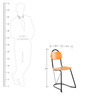 U-Nest Chair in Steam Beech Colour by Tube Style