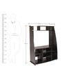 Ultrasonic Wall Unit in Wenge Finish by Kurl-On