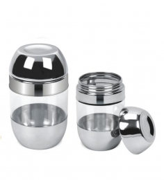 Varun Stainless Steel Stylus Container Big