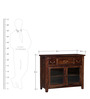 Prescott Sideboard in Provincial Teak Finish by Woodsworth