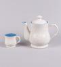 VarEesha Ceramic Cups and Pot - Set of 7