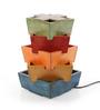 VarEesha Multicolour Wood Table Lamp