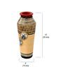 Vareesha Multicolour Terracotta Handcrafted Simmer Vase