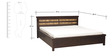 Venice King Bed With Storage by Evok