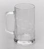 Velik Tudor Premium Glass 415ML Beer Mug - Set of 3