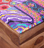Vemaka - Kantha Patchwork Trunk Cum Bench by Mudramark