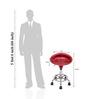 Ventura Towering Red Bar Chair