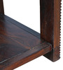 Venus Solidwood Side Table in Brown Colour by HomeTown