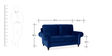 Vienna Two Seater Sofa in Blue Colour by Urban Living