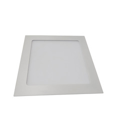 Victory Lighting 12W LED Panel Light Square Recessed 4200K- Day Light -Pack Of 1