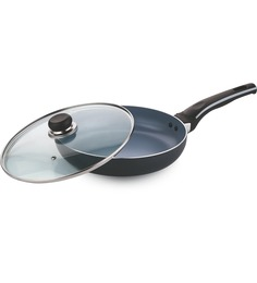 Vinod Cookware Zest Superb FryPan With Lid - 28 Cm
