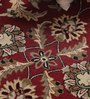 Vikram Carpets Red Wool Antiquities Hand Tufted Round Carpet