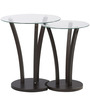 Viola Set of Tables in Wenge Colour by @home
