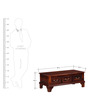 Lincoln Coffee Table in Honey Oak Finish by Amberville