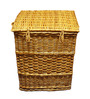 VISO Cane Laundry Basket with Lid