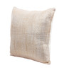 Vista Fawn Cotton 16 x 16 Inch Solid Cushion Cover