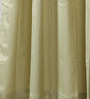 Vista Home Green Cotton 90 x 54 Inch Solid Door Curtain - Set of 2