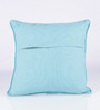 Vista Home Fashion Green Cotton 16 x 16 Inch Cushion Cover