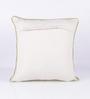 Vista Home Fashion Pink Cotton 16 x 16 Inch Indian Cushion Cover