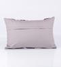 Vista Home Fashion Purple Cotton 20 x 14 Inch Cushion Cover