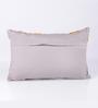 Vista Home Fashion Yellow Cotton 20 x 14 Inch Cushion Cover