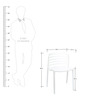 Vivo Cafeteria Chair Set of Two in White Color By Attro