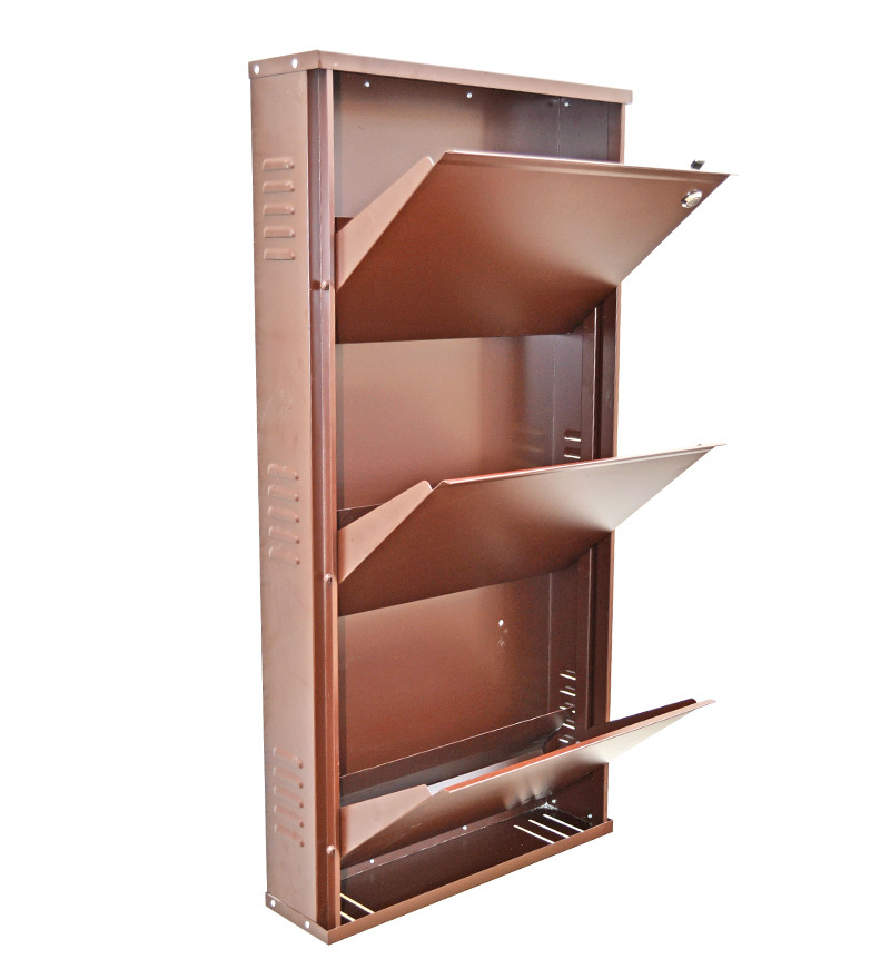 Vladiva space saving three level shoe rack by vladiva online shoe racks furniture - Shoe storage small space pict ...