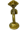 Vyom shop Brass Handle Diya