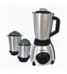 Wama WMMG07 3 Jars Full Stainless Steel Body Mixer Grinder (Silver)