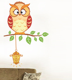 WallTola Wall Stickers Light It Up Owl