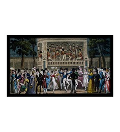 WallsnArt Dance Party At Vaux Hall London Photographic Paper Framed Art Print
