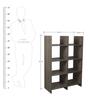Wall Display Unit cum Book Shelf in Cypress Finish by Arancia Mobel