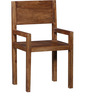 Trego Arm Chair in Provincial Teak Finish by Woodsworth
