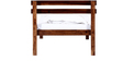 Wenatchee Single Size Bed in Provincial Teak Finish by Woodsworth