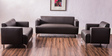 Windsor Two Seater Sofa in Dark Brown Colour by Durian