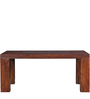 Woodinville Ivy Six Seater Dining Table in Provincial Teak Finish by Woodsworth